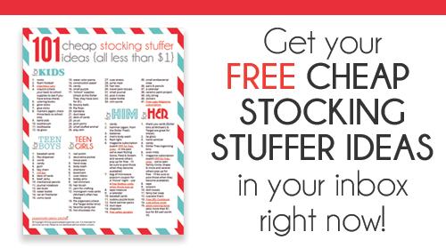 Stocking Stuffer Ideas 101 cheap stocking stuffer ideas | passionate penny pincher