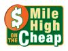 Mile High on the Cheap Logo