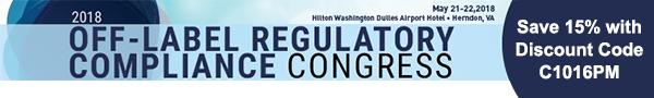 Off-Lable Regulatory Compliance Congress