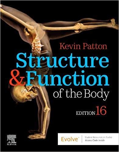 Patton's Structure & Function of the Body 16e